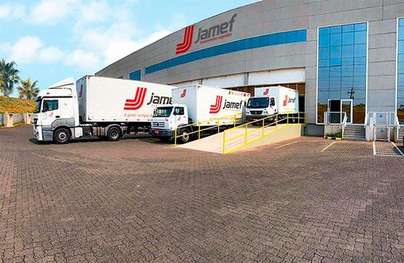 Transportadora Jamef está de casa nova em Bauru (SP)