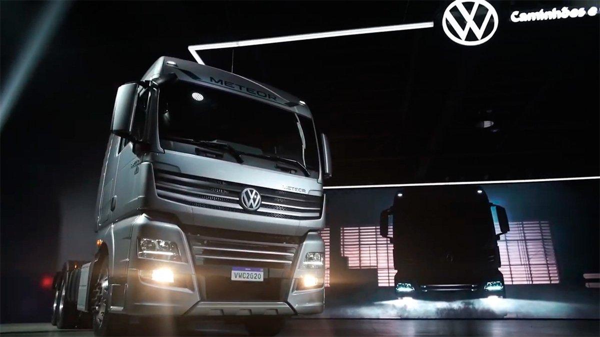 METEOR: Volkswagen investe pesado nos extrapesados