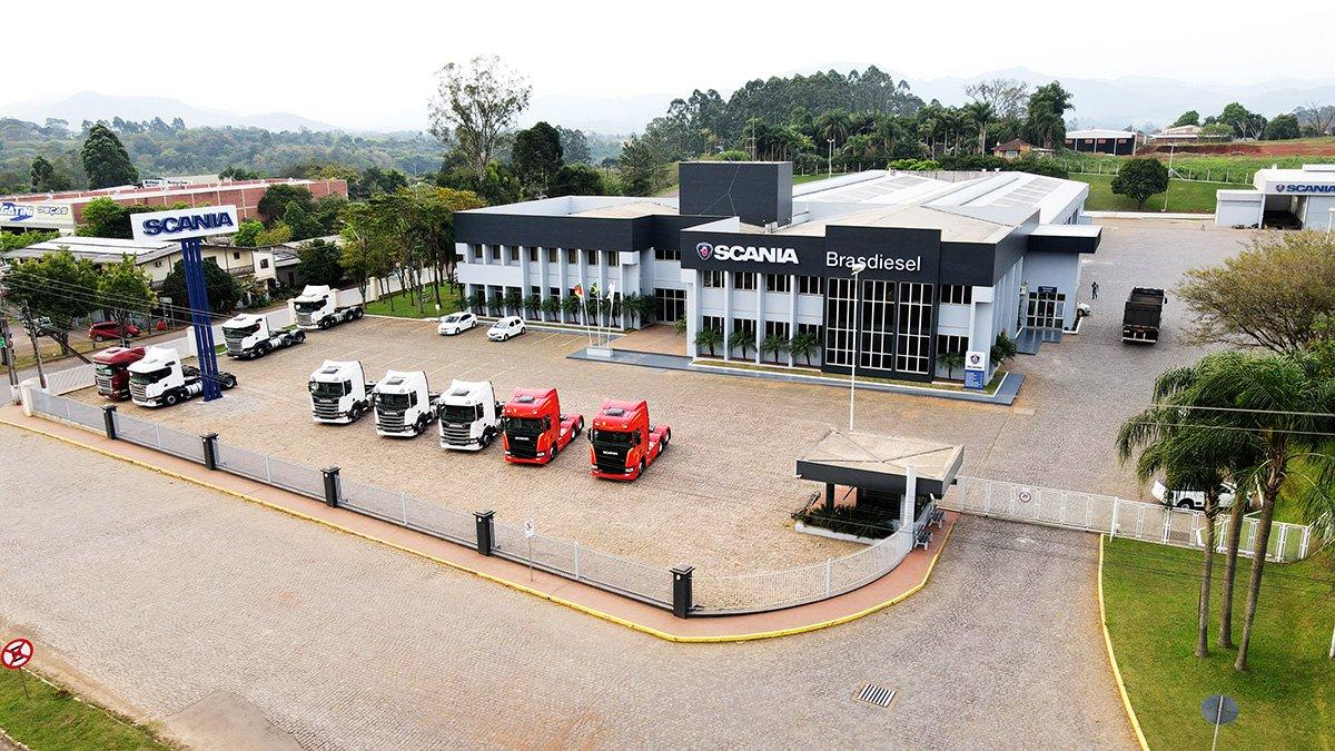 Brasdiesel reinaugura estrutura para atendimento Scania em Lajeado (RS)