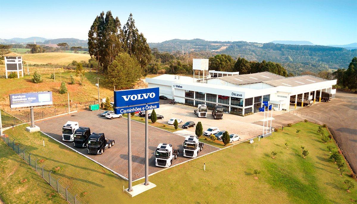 Concessionária Dicave Volvo ganha unidade maior em Videira (SC)