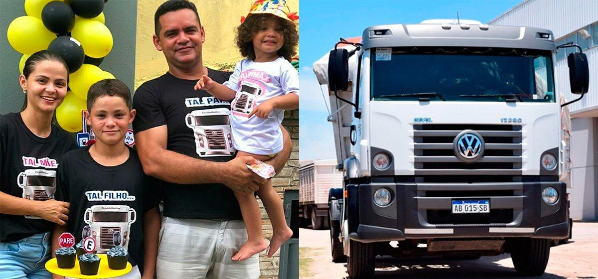 Caminhões Volkswagen são tema de festa de aniversário de 12 anos de garoto no Pará