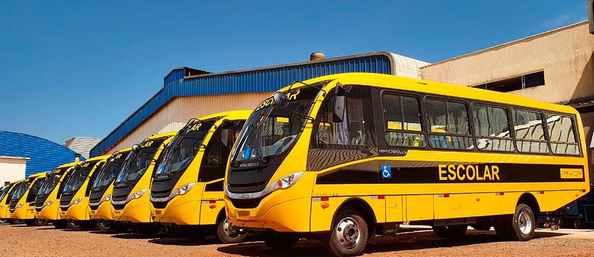 Iveco avança com entregas de ônibus para o Caminho da Escola