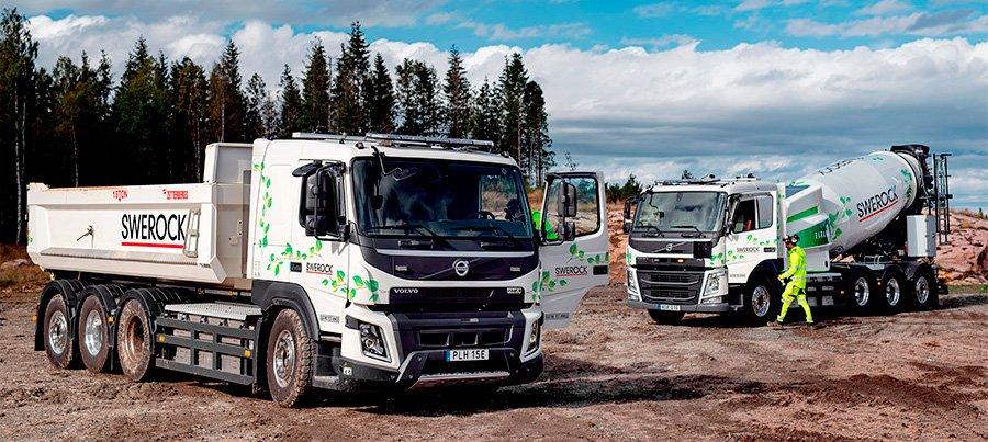 Volvo testa caminhões pesados movidos a eletricidade na Europa