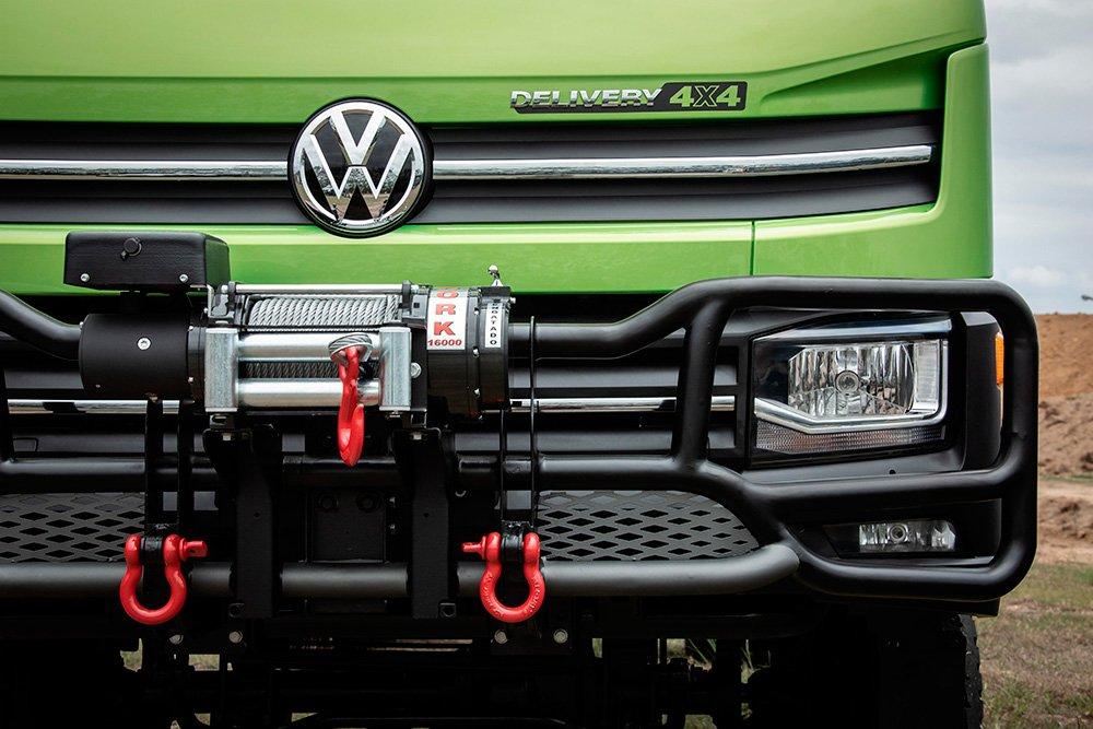 VW Delivery 11.180 com tração integral começa a ser vendido nas concessionárias
