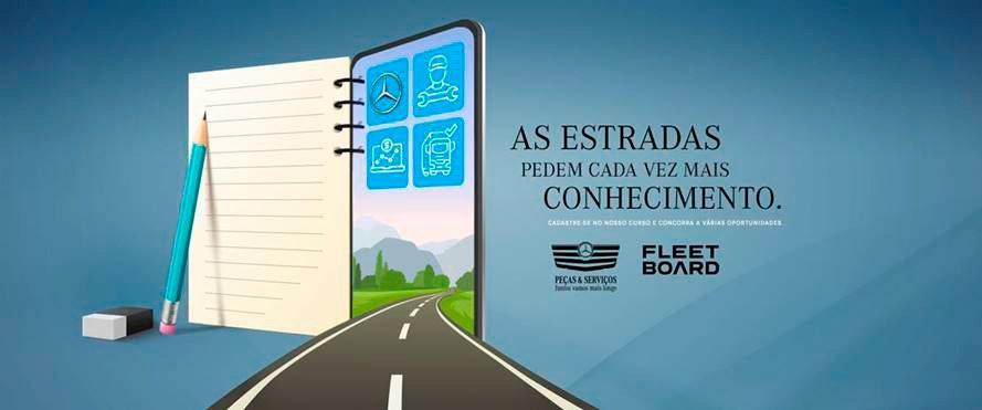 Mercedes-Benz lança curso gratuito para quem transporta o Brasil