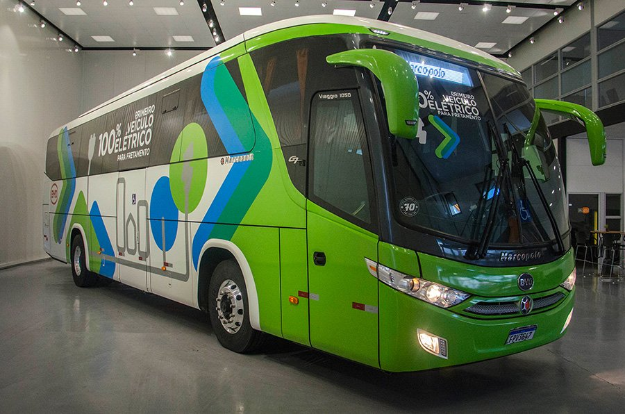 Rio Grande do Sul ganha ônibus elétrico da BYD e Marcopolo
