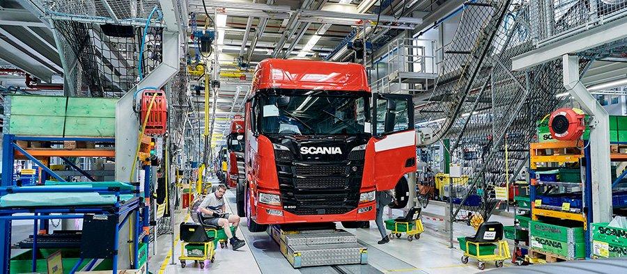 Scania vai fabricar caminhões pesados na China