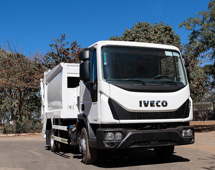 Governo compra mais 20 caminhões Iveco Tector para o desenvolvimento regional