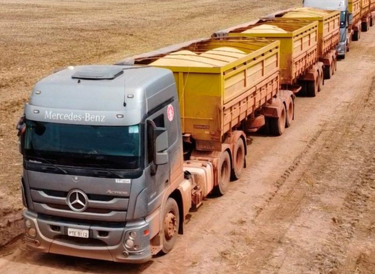 Grupo Risa compra 50 Actros para o transporte de grãos em tritrens