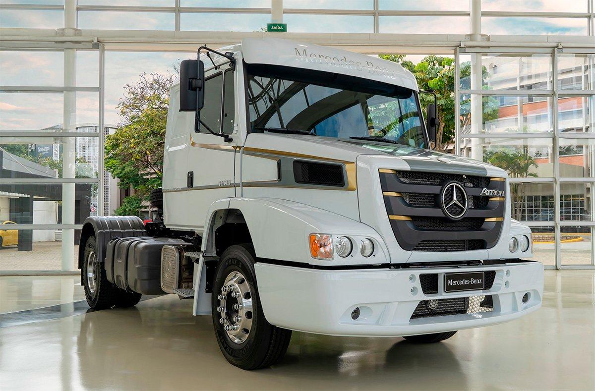 Mercedes-Benz cria edição especial do Atron 1635 para despedir do modelo