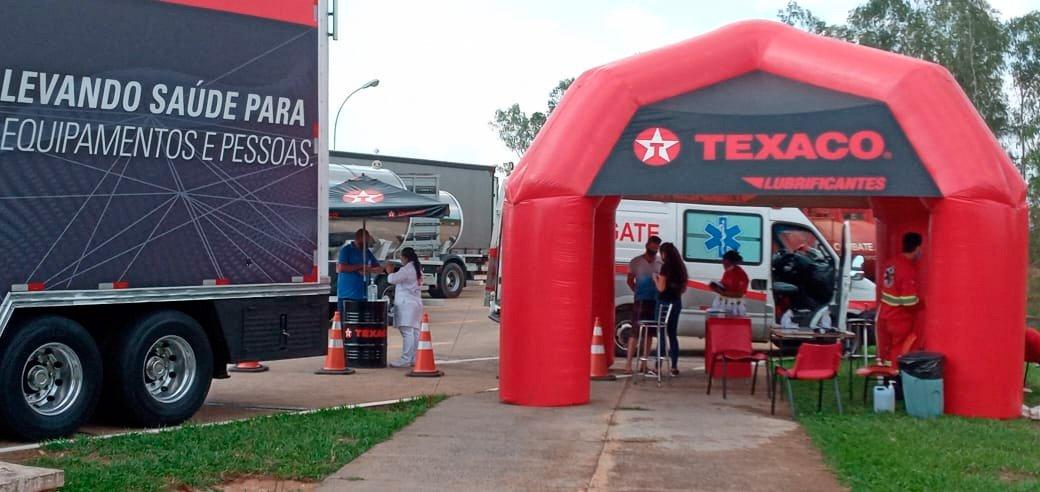 Carreta da Texaco fez mais de 15 mil atendimentos de saúde em 2020