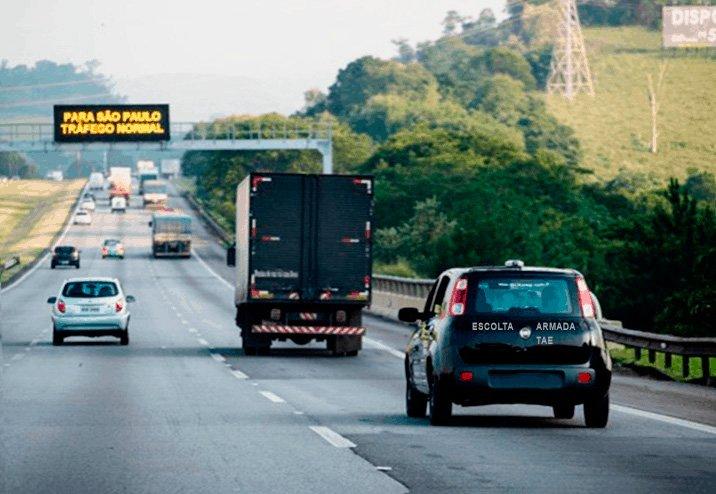 Governo paulista libera escolta credenciada para cargas indivisíveis