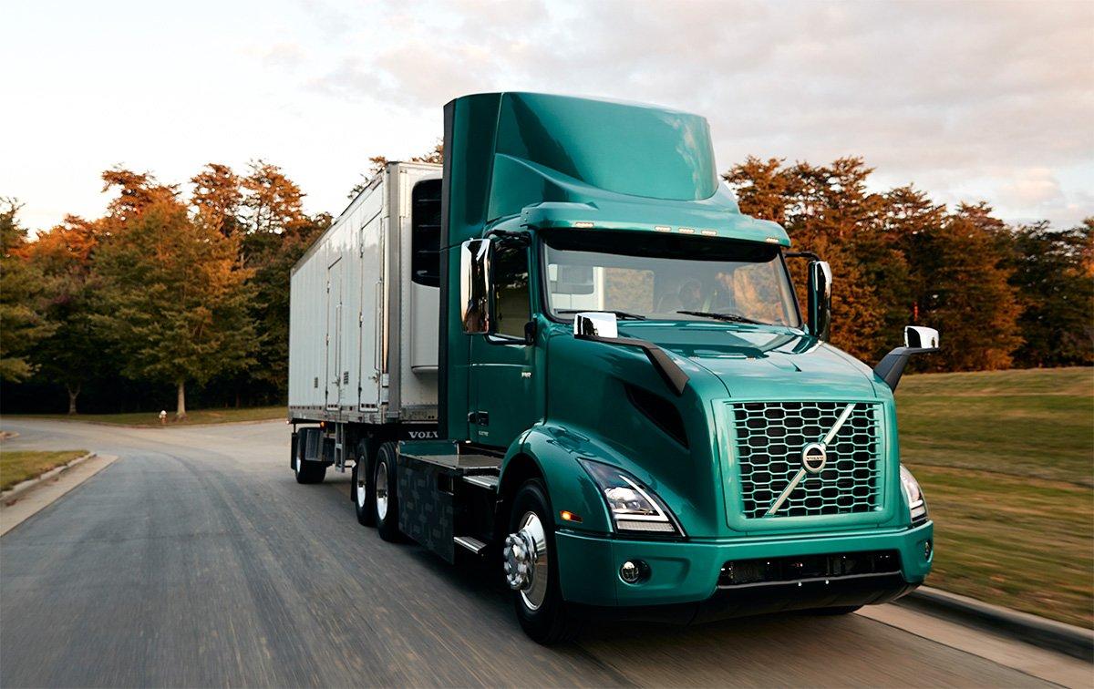 Volvo inicia vendas de caminhões elétricos nos EUA e Canadá