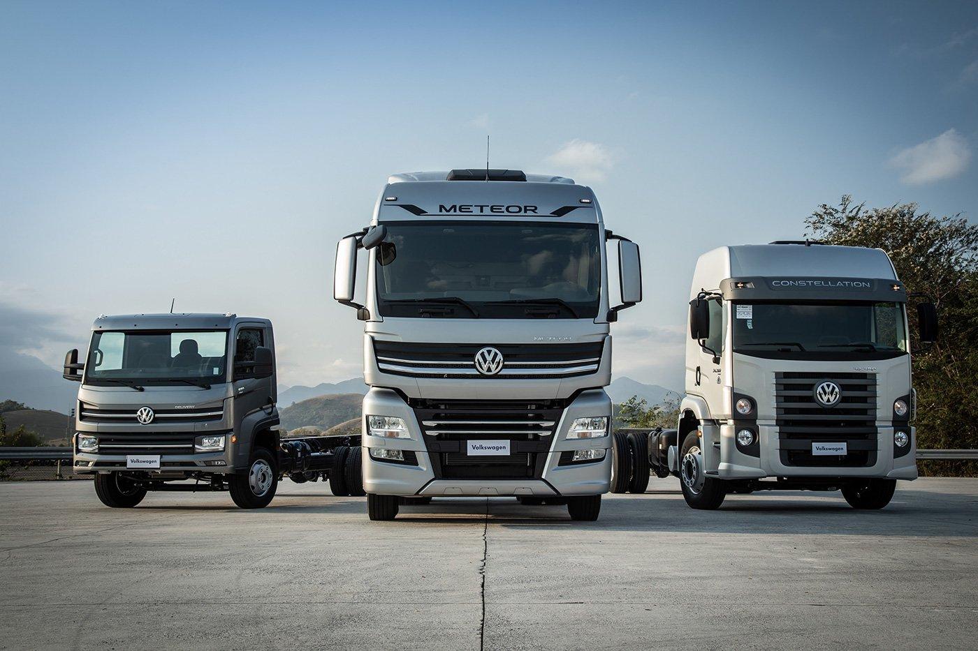 VW vai investir R$ 2 bi em caminhões e ônibus até 2025
