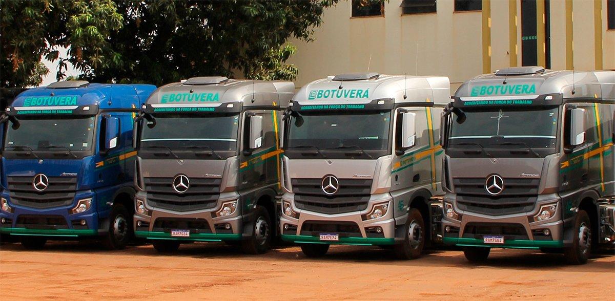 Mercedes-Benz vende 30 Novos Actros 2651 para a Transportes Botuverá