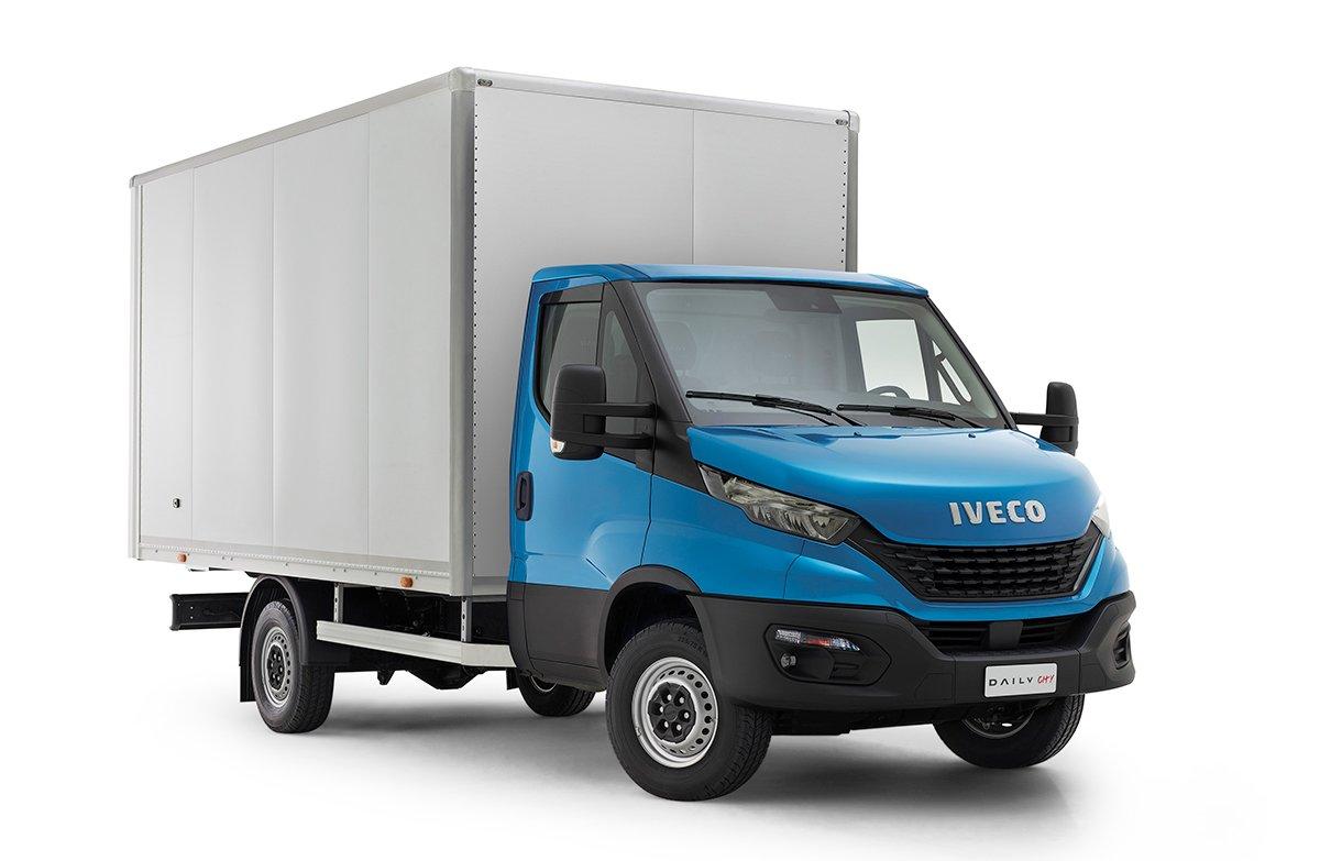 Iveco Daily City chega ao mercado com a nova cabine