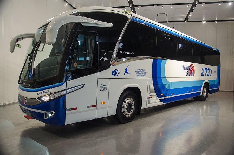 Scania anuncia primeiro ônibus a gás para fretamento do Brasil