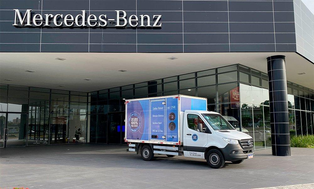 Mercedes-Benz estreia conceito de Van Center no Ceará