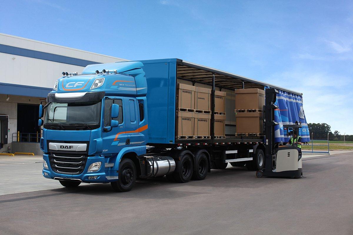 DAF traz nova linha de caminhões CF para o Brasil
