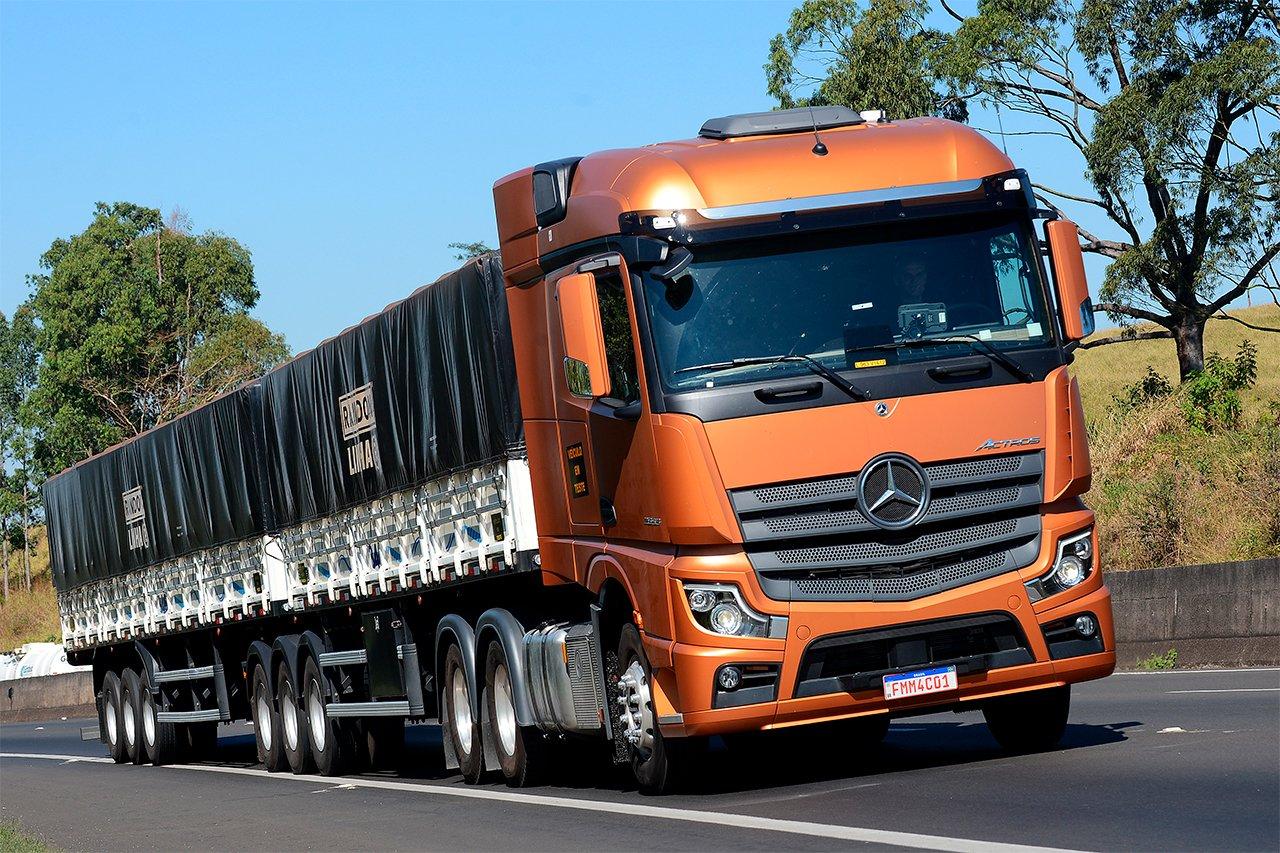Mercedes-Benz já emplacou mais de 1.200 Novos Actros