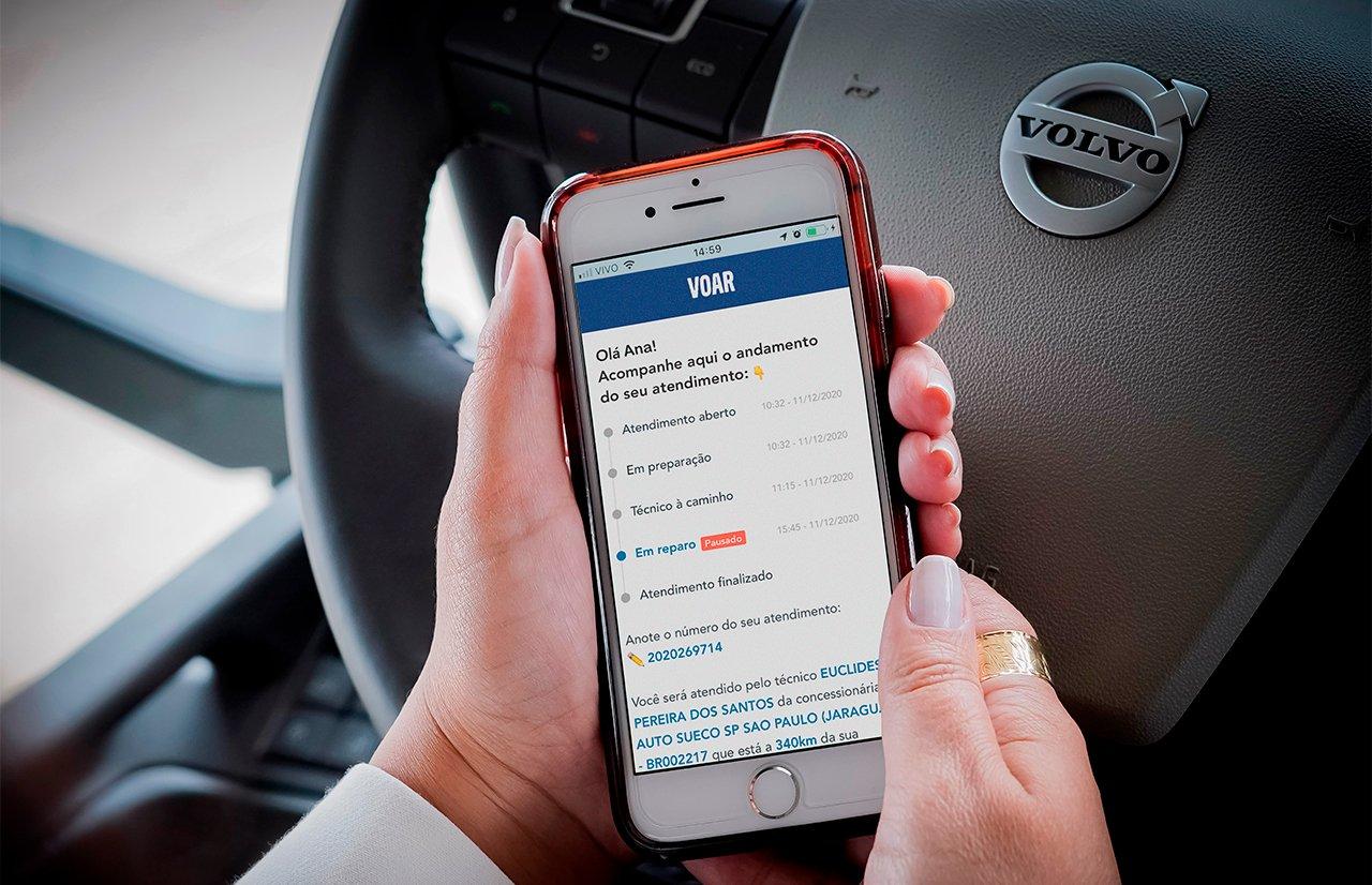 Volvo digitaliza e faz a informação VOAR