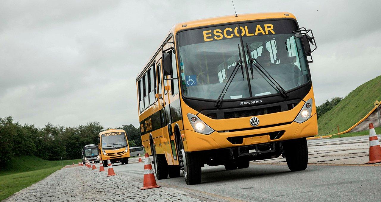 SP recebe 700 ônibus escolares da Volkswagen