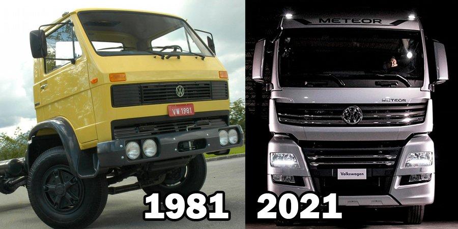 Caminhões Volkswagen completam 40 anos de história no Brasil