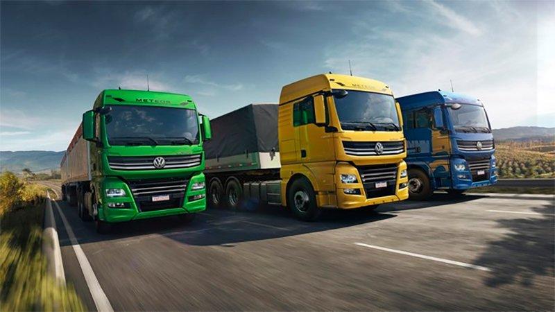 VW Meteor já aparece na lista dos caminhões pesados mais vendidos do Brasil