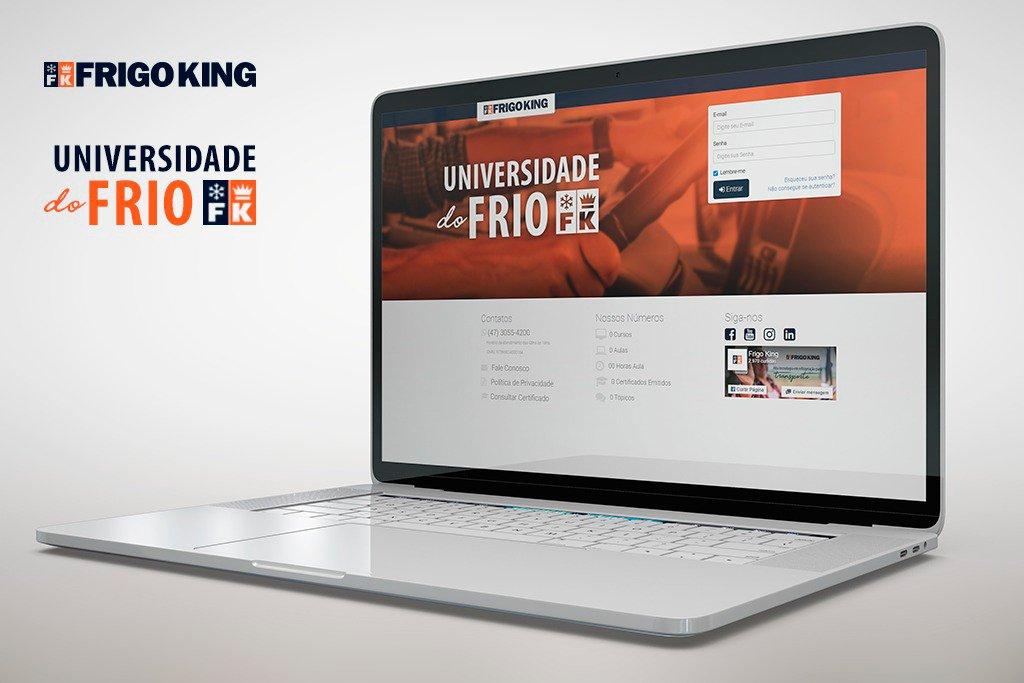 Frigo King cria universidade corporativa online