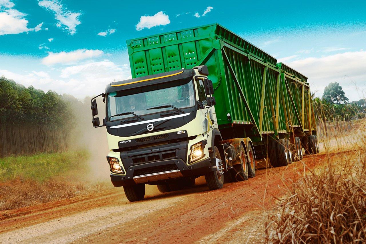 Raízen vai produzir açúcar e etanol com a ajuda de 210 caminhões Volvo