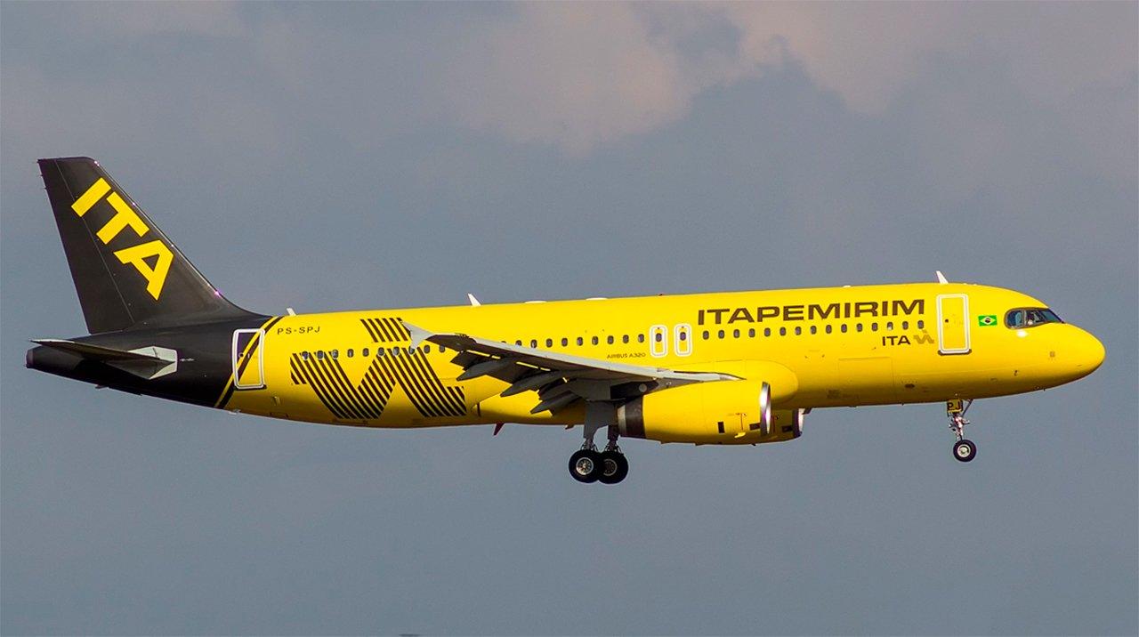 Itapemirim tem passagens aéreas a partir de R$ 119,90