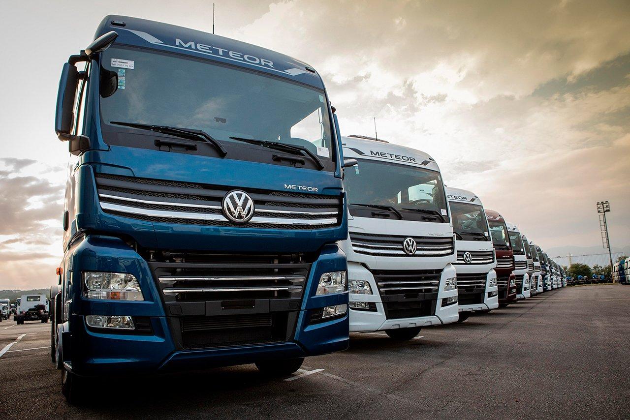 VW Caminhões já fabricou e vendeu mais de mil unidades do Meteor