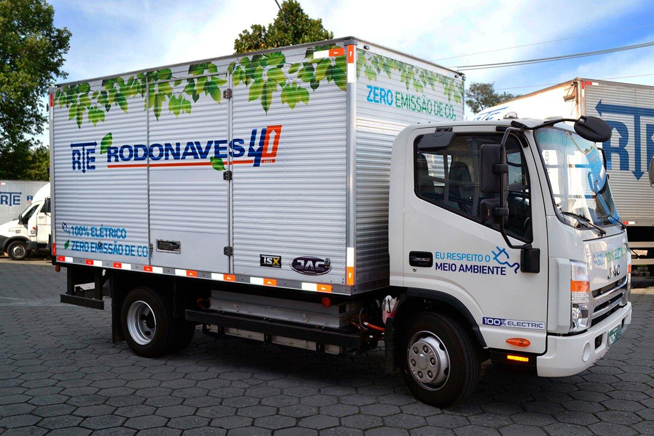 RTE Rodonaves compra seus primeiros caminhões elétricos