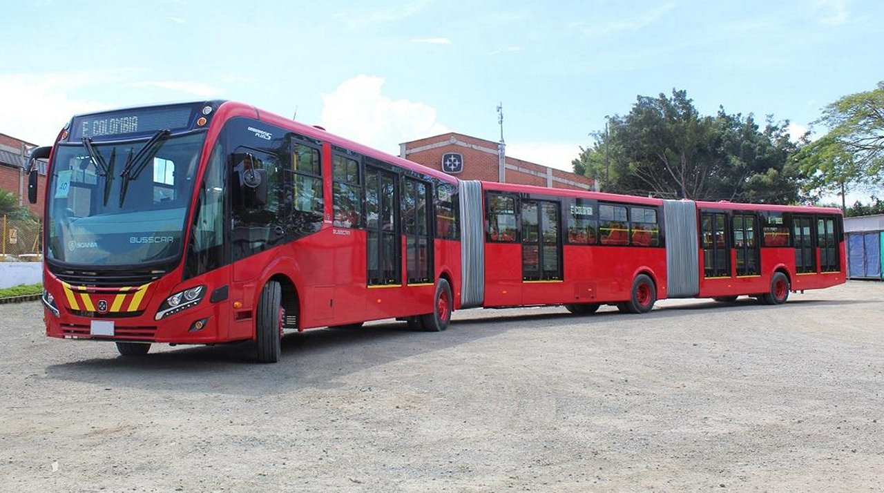 Colômbia compra mais de 500 ônibus Scania do Brasil com transmissão Allison