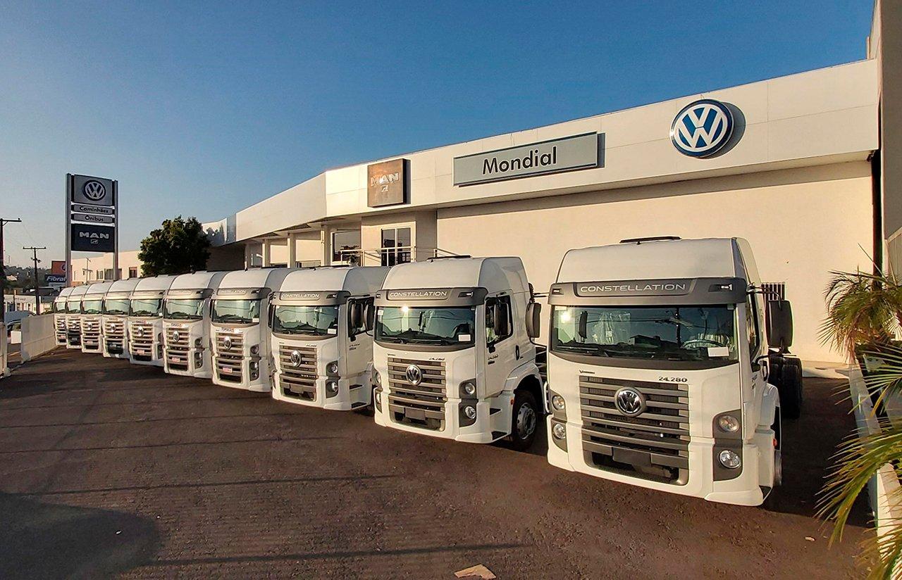 Transportadora gaúcha recebe novos VW Constellation na frota