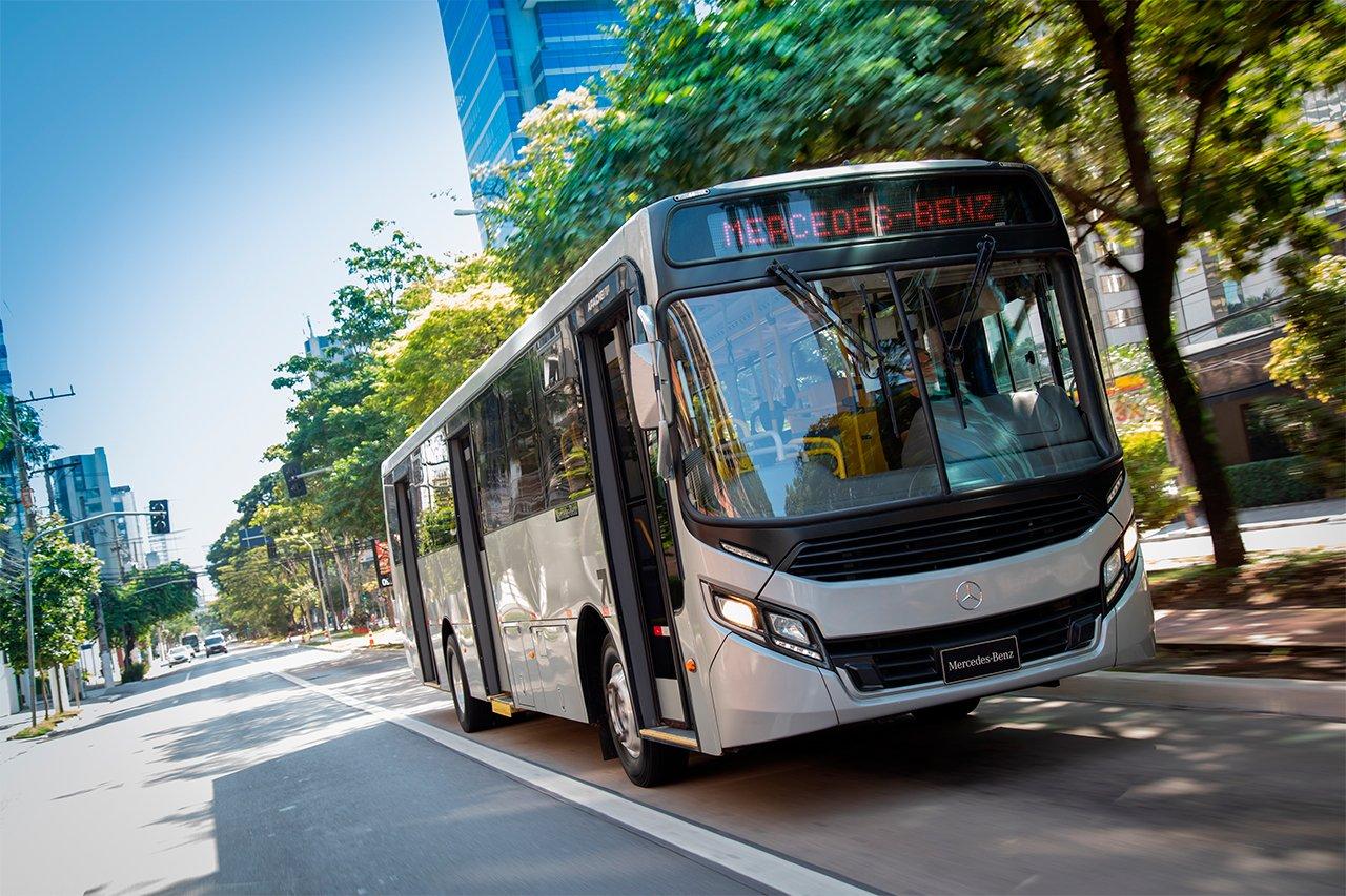 Mercedes ultrapassa a marca dos 120 mil chassis de ônibus OF 1721 fabricados