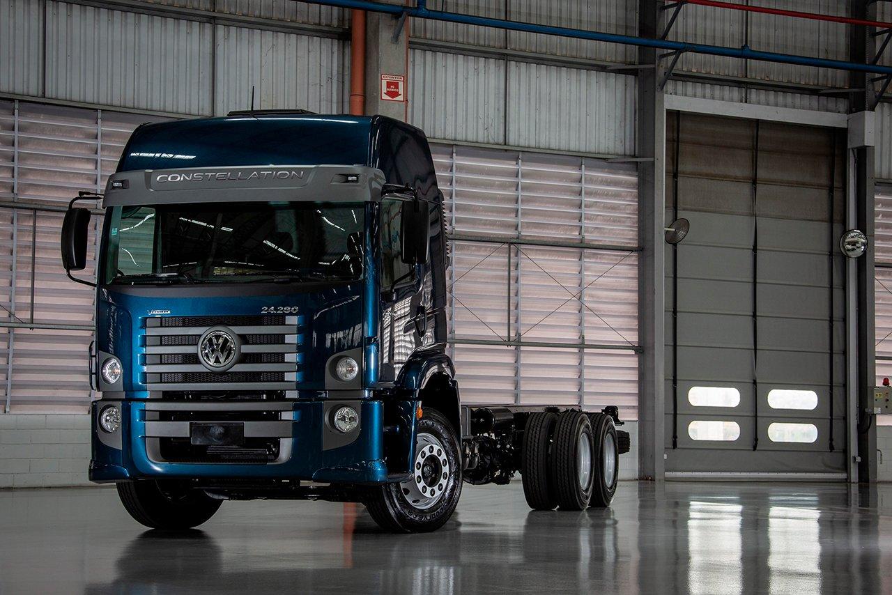 Concorra a um caminhão VW Constellation 24.280 até 20 de junho