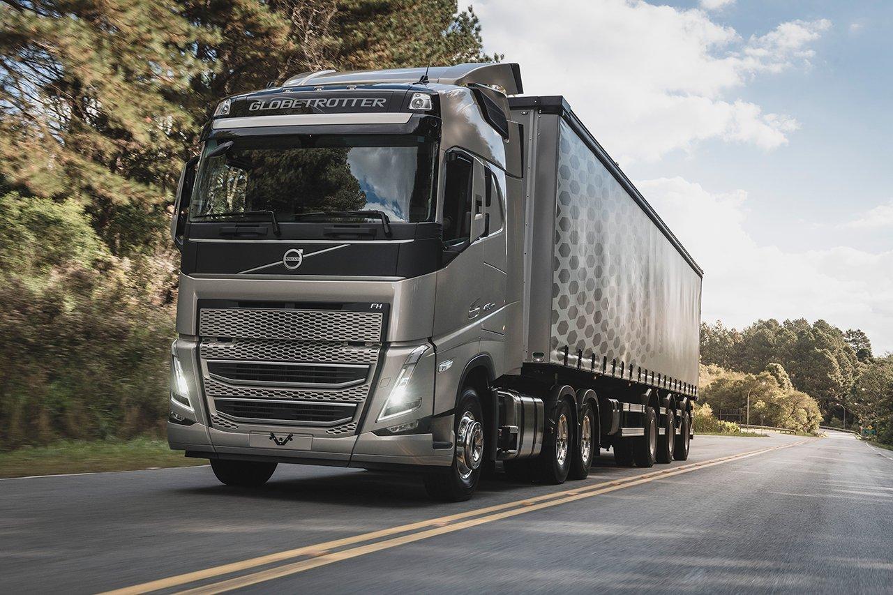 Caminhões Volvo da mesma geração da Europa no Brasil