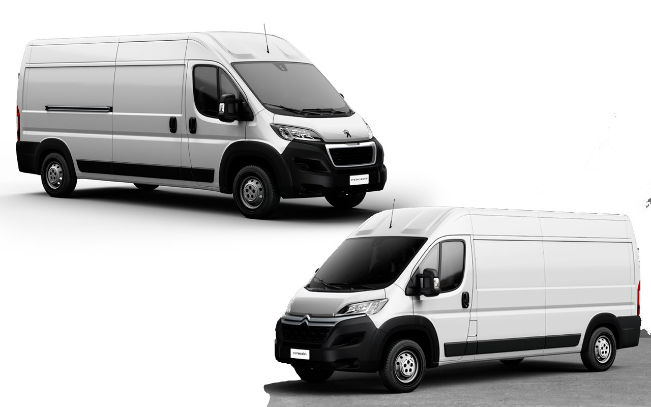 Peugeot e Citroën apresentam furgões para motoristas com CNH categoria B