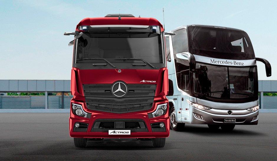 Mercedes-Benz registra salto nas exportações para a América Latina
