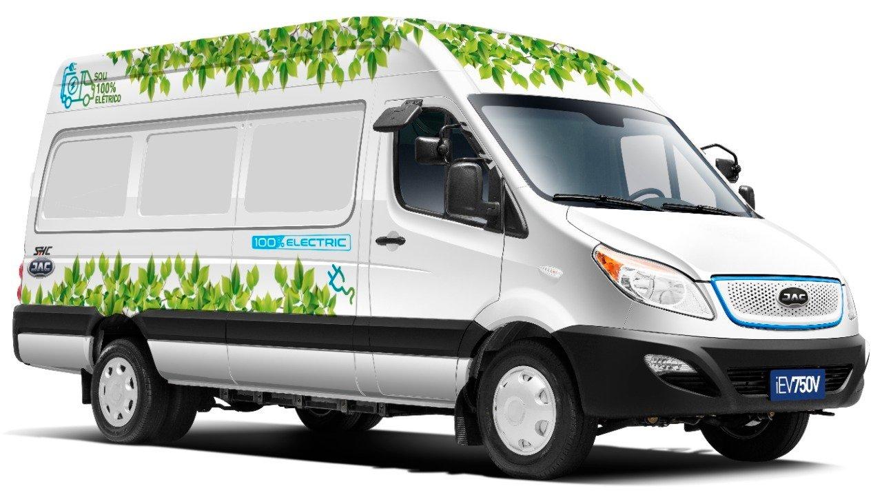 JAC Motors traz furgão elétrico para o mercado brasileiro