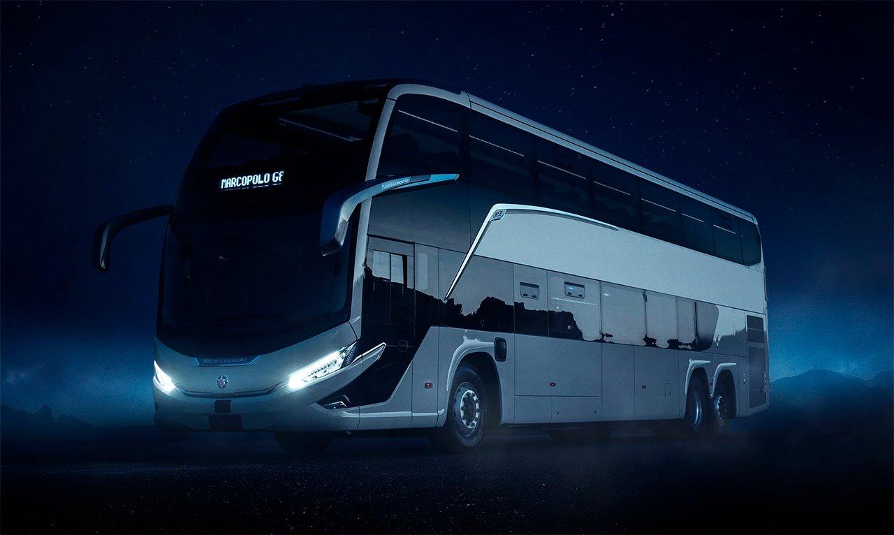 Geração 8 de ônibus Marcopolo deve chegar ao mercado em agosto