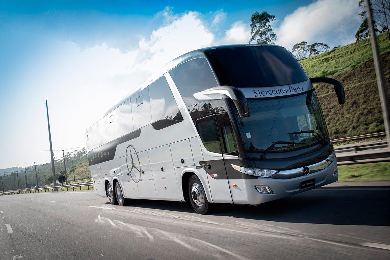 Chassi de ônibus O 500 da Mercedes-Benz chega aos 20 anos com 70 mil unidades fabricadas