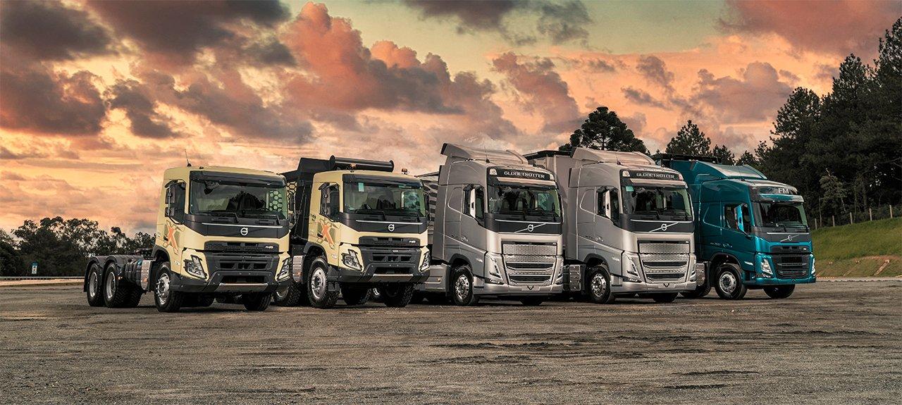 Volvo oferece condições financeiras especiais para a compra dos novos caminhões