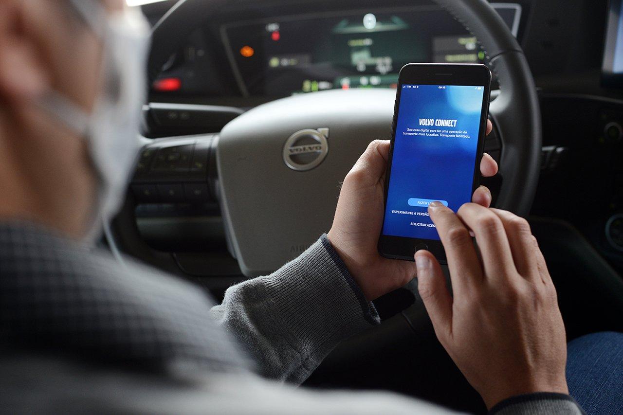 Volvo eleva o Dynafleet a um novo patamar de conectividade com a plataforma Connect