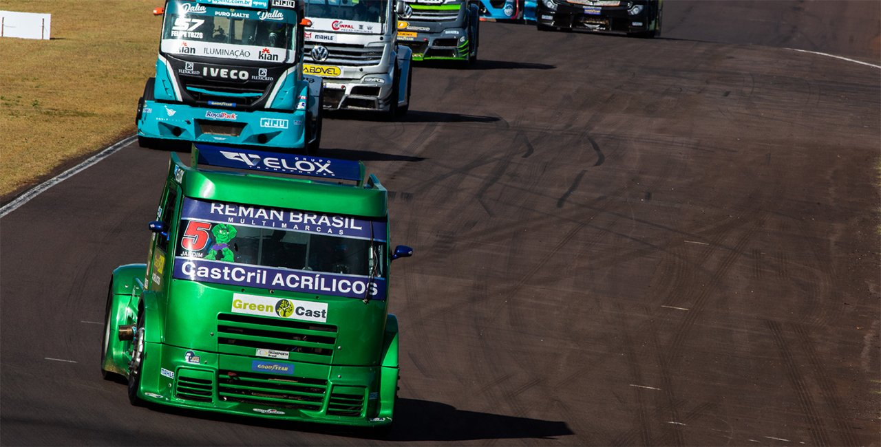 Copa Truck acelera os pesados em Tarumã (RS) neste fim de semana