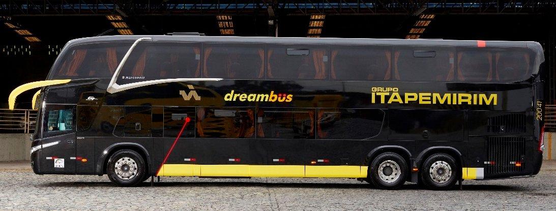 Itapemirim liga SP e RJ com ônibus dos sonhos