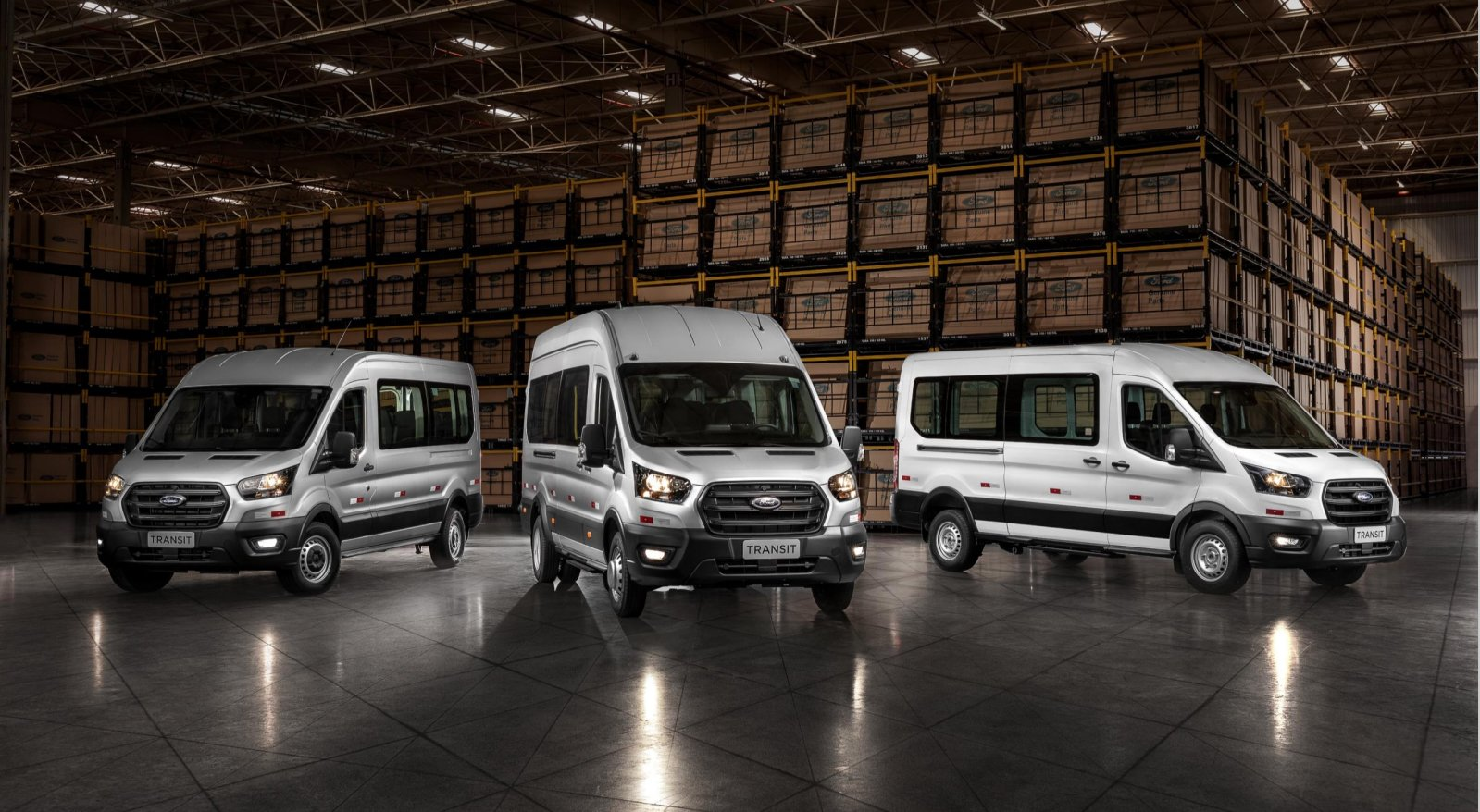 Ford cria nova divisão de veículos comerciais em terras brasileiras