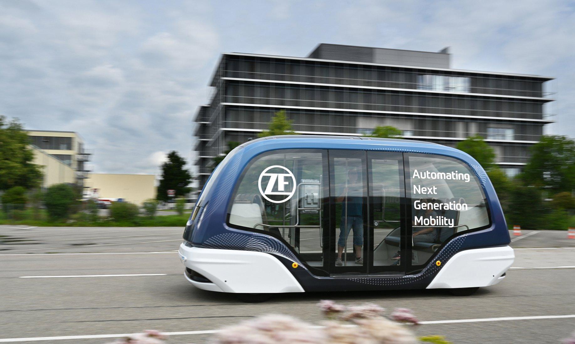 ZF desenvolve tecnologia autônoma para o transporte de passageiros